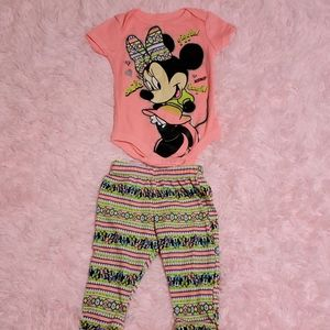 🐭3-6 mo Minnie Mouse Outfit
